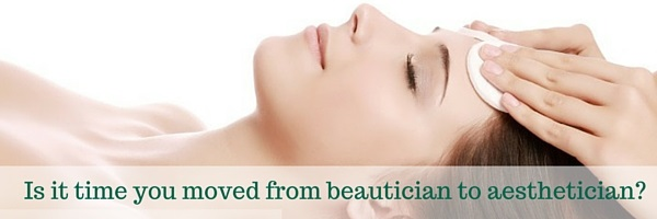 Cosmetic Courses: Banner showing Blog title