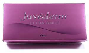 Cosmetic Courses; image showing dermal filler product range Juverderm Smile