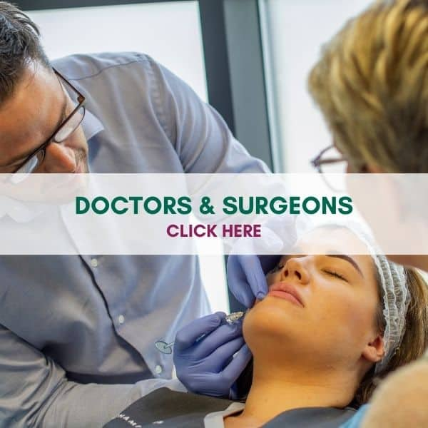 WE TRAIN DOCTORS AND SURGEONS COSMETIC COURSES
