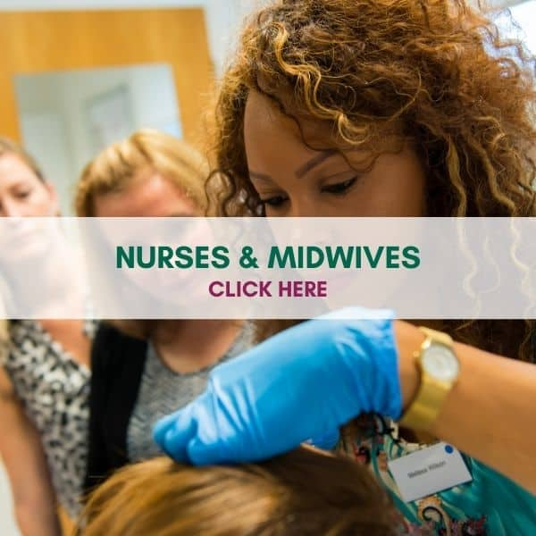 WE TRAIN NURSES AND MIDWIVES
