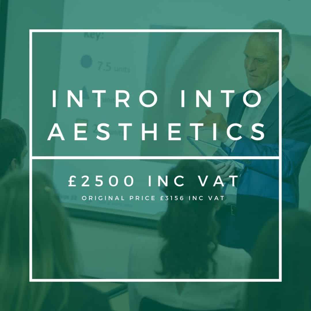 intro into aesthetics cosmetic courses