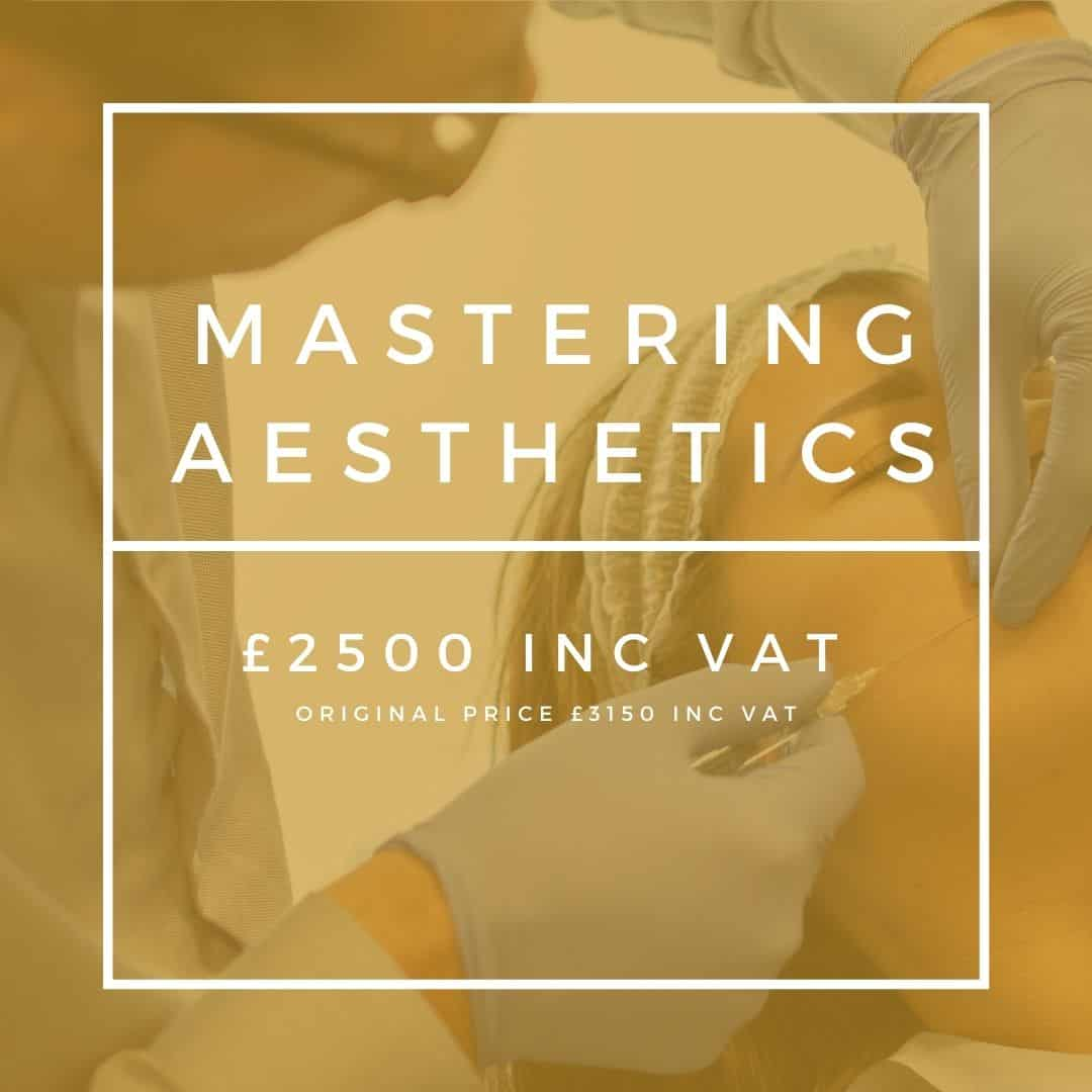 mastering aesthetic cosmetic courses