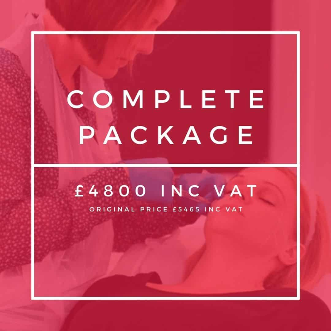 complete package cosmetic courses